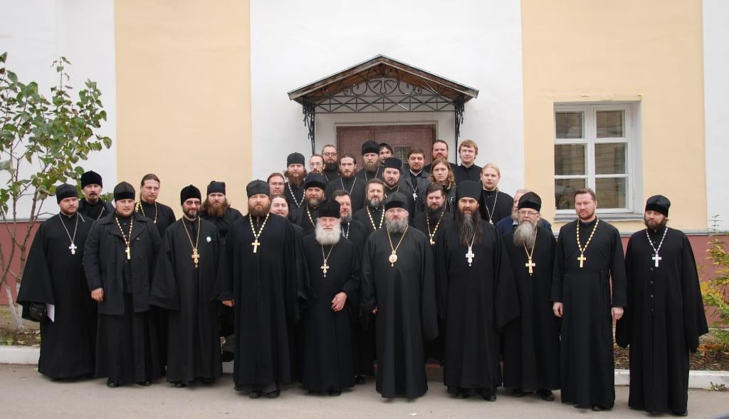 Духовенство Козельской епархии.