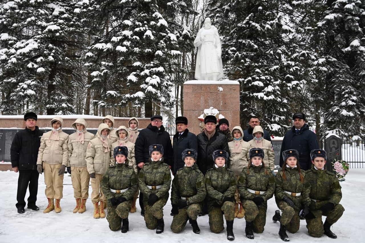 14 января 2021 года в городе Медынь состоялся торжественный митинг, посвящённый 79 - летию освобождения г. Медынь от немецко-фашистских захватчиков