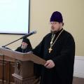 Доклад проректора КДС по учебной работе о деятельности семинарии на собрании клира и мирян Калужской митрополии